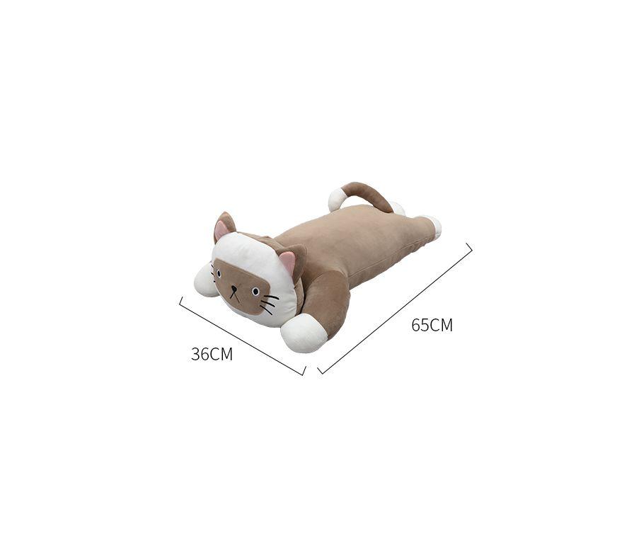 Փափուկ խաղալիք կատու շականակագույն