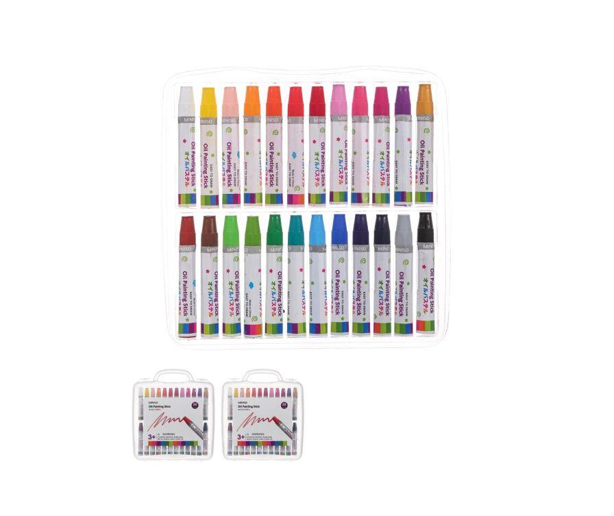 Գունավոր մատիտներ (24 հատ)