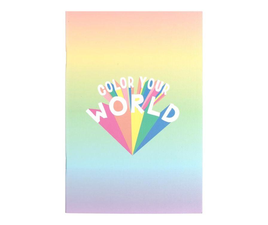 Նոթատետր Candy Rainbow Series