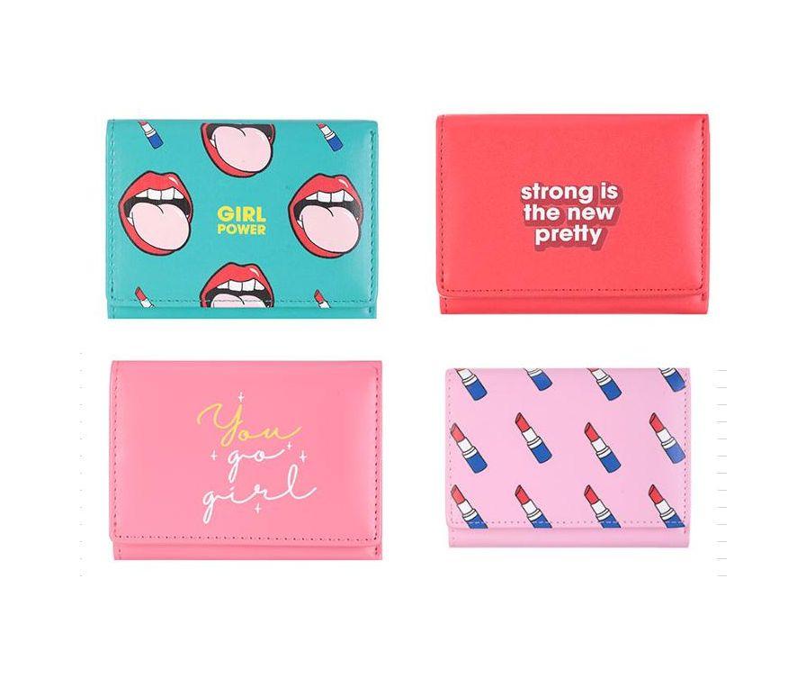 Կանացի դրամապանակ (բաց վարդագույն)