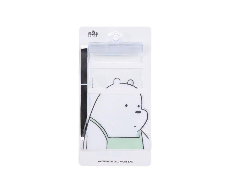Հեռախոսի ջրակայուն պատյան We Bare Bears (սպիտակ արջ)