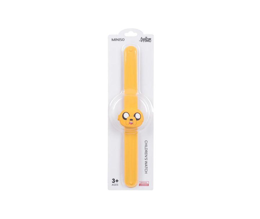 Մանկական ժամացույց Adventure Time (դեղին)