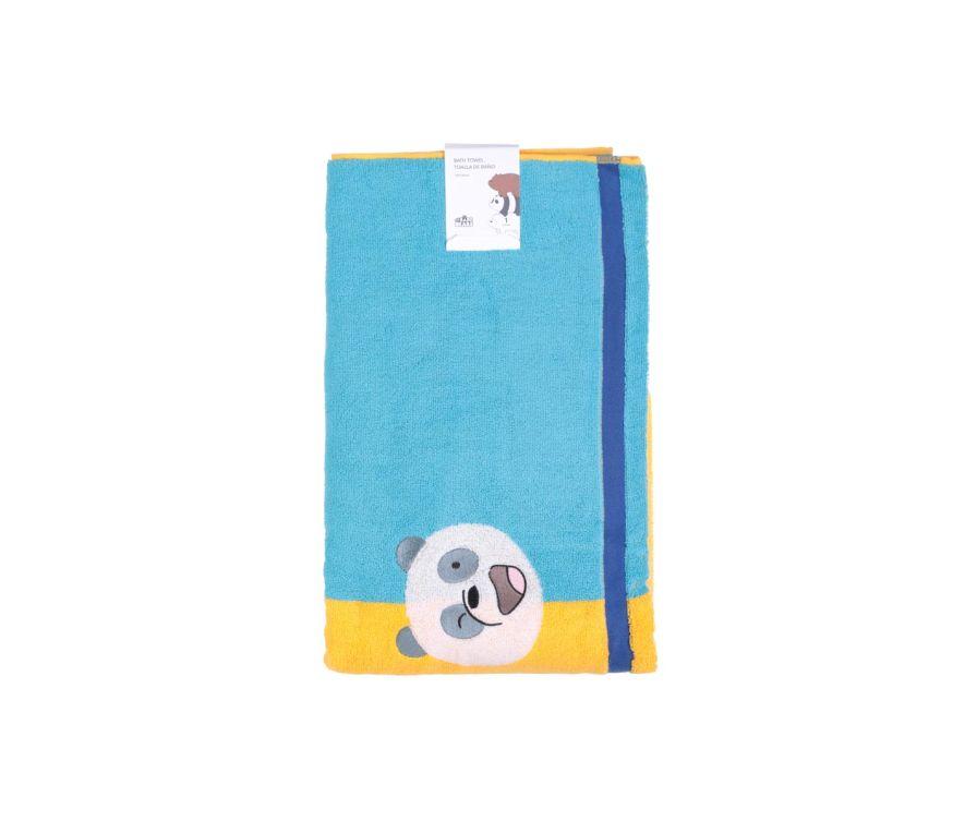 Լոգանքի սրբիչ We Bare Bears (դեղին-կապույտ)