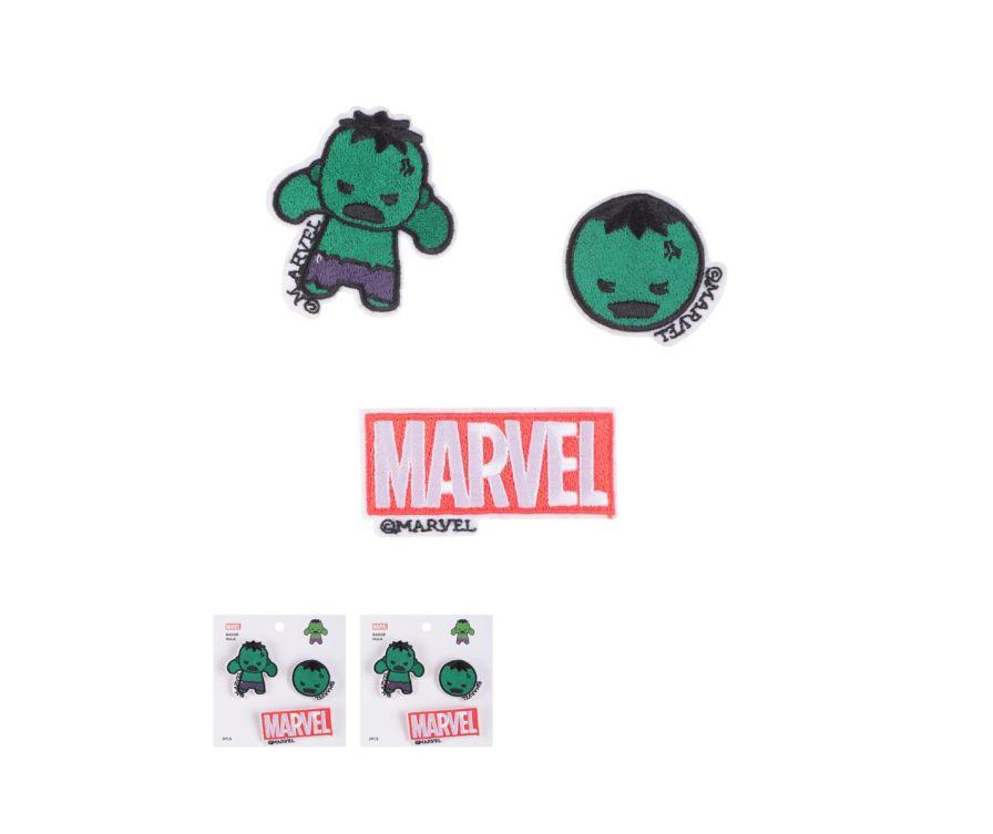 Կրծքանշան MARVEL (Hulk)